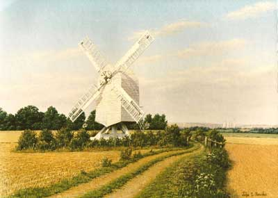 Chillenden Mill by John Hawke