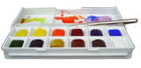 the editor's watercolour paint box